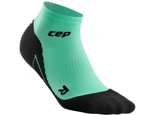 cep Calcetines Compresión Corte Bajo Mujer, verde/negro